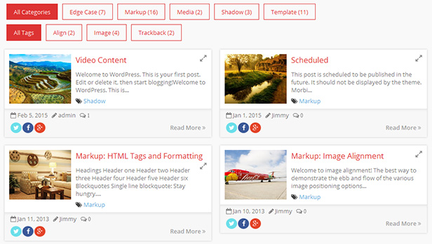 WordPress Post Grid/List Layout With Carousel