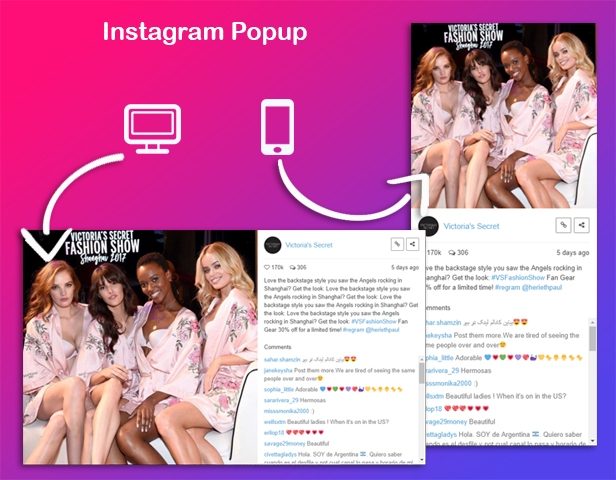 WPBakery Page Builder - Instagram Social Stream Grid With Carousel