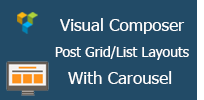 Visual Composer - Post Grid/List Layout With Carousel