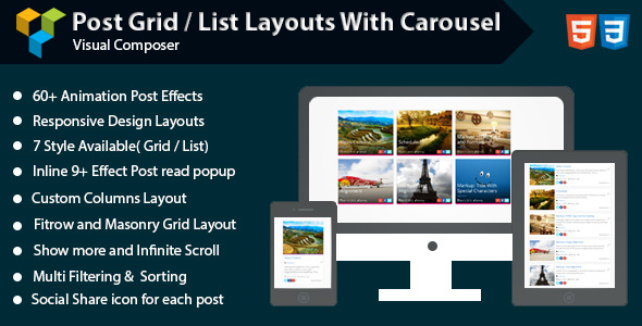 All in One Carousel for WordPress